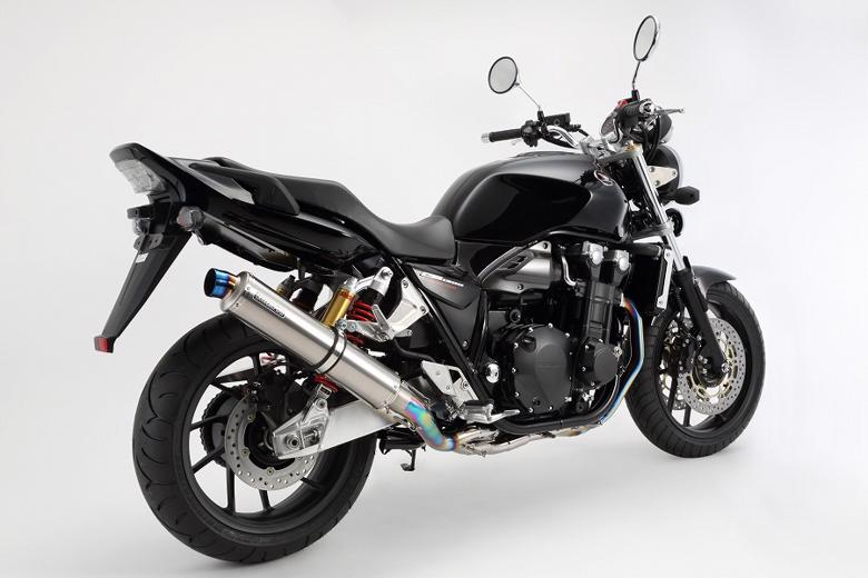 スーパーセール バイク用品 マフラー 4ストフルエキゾーストマフラービームス R-EVO チタンソリッド フルエキ CB1300SF 14-BEAMS G173-53-T3J 取寄品