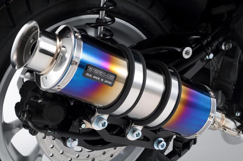 バイク用品 マフラー 4ストフルエキゾーストマフラービームス SS300ヒートチタンSP NMAXBEAMS G244-06-000 取寄品