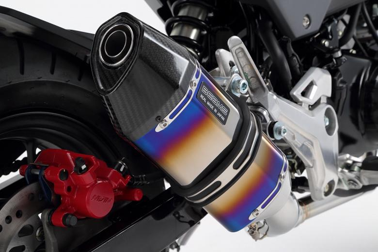 スーパーセール バイク用品 マフラー 4ストフルエキゾーストマフラービームス CORSA-EVOIIヒートチタン GROM 16- (JC61-13・・・・)BEAMS G175-65-001 取寄品