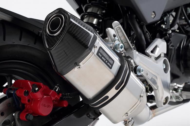 スーパーセール バイク用品 マフラー 4ストフルエキゾーストマフラービームス CORSA-EVOIIステン GROM 16- (JC61-13・・・・)BEAMS G175-64-000 取寄品