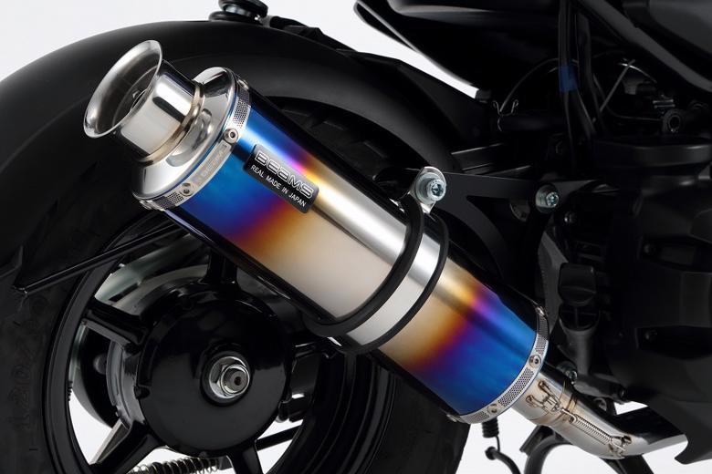 スーパーセール バイク用品 マフラー 4ストフルエキゾーストマフラービームス SS300ヒートチタン SP BWs50 15- JBH-SA53JBEAMS G249-06-000 取寄品