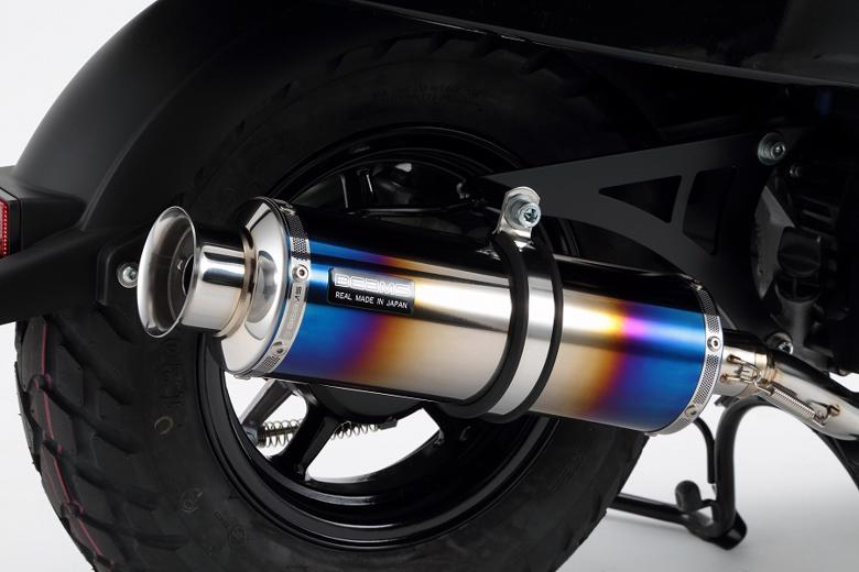 スーパーセール バイク用品 マフラー 4ストフルエキゾーストマフラービームス SS300ヒートチタン SP VOX 15- JBH-SA52JBEAMS G250-06-000 取寄品