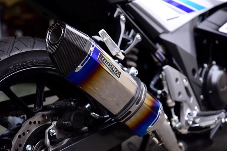 スーパーセール バイク用品 マフラー 4ストスリップオン&ボルトオンマフラービームス CORSA-EVO2 S O ヒートチタン GSX250R 17BEAMS G335-65-P6J 取寄品