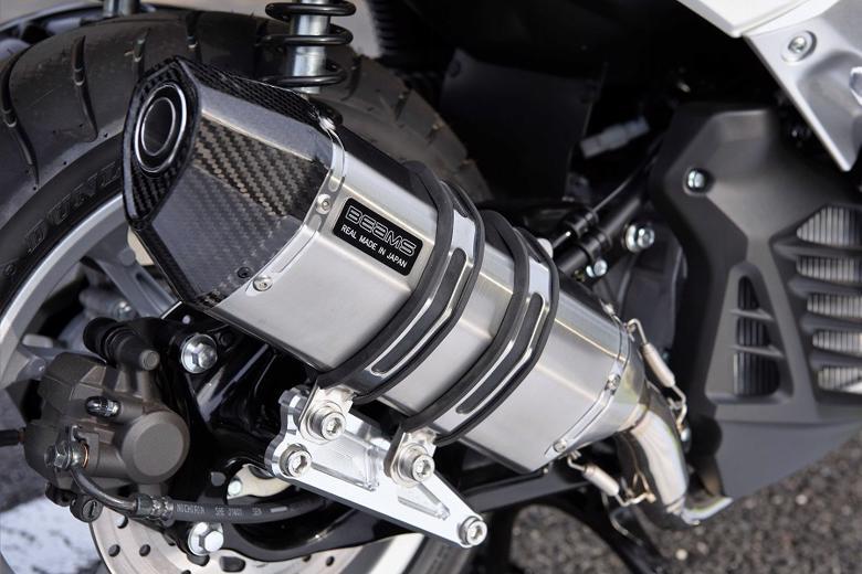 スーパーセール バイク用品 マフラー 4ストフルエキゾーストマフラービームス CORSA-EVOII ステン NMAX155 2BK-SG50JBEAMS G252-64-000 取寄品