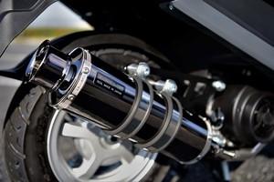 スーパーセール バイク用品 マフラー 4ストフルエキゾーストマフラービームス SS300SMBスーパーメタルブラック SP ADDRESS125 17-BEAMS G338-05-000 取寄品