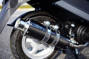 スーパーセール バイク用品 マフラー 4ストフルエキゾーストマフラービームス SS300カーボン SP ADDRESS125 17-BEAMS G338-08-000 取寄品