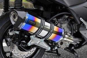スーパーセール バイク用品 マフラー 4ストフルエキゾーストマフラービームス GT-CORSA ヒートチタン XMAXBEAMS G259-66-001 取寄品