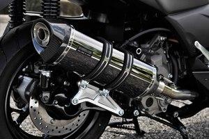 スーパーセール バイク用品 マフラー 4ストフルエキゾーストマフラービームス GT-CORSA SMB X-MAX250BEAMS G259-66-005 取寄品