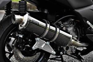 スーパーセール バイク用品 マフラー 4ストフルエキゾーストマフラービームス R-EVO SMB X-MAX250BEAMS G259-53-005 取寄品