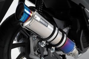 スーパーセール バイク用品 マフラー 4ストフルエキゾーストマフラービームス R-EVO2 ヒートチタン PCX150 18- 2BK-KF30BEAMS G180-54-007 取寄品