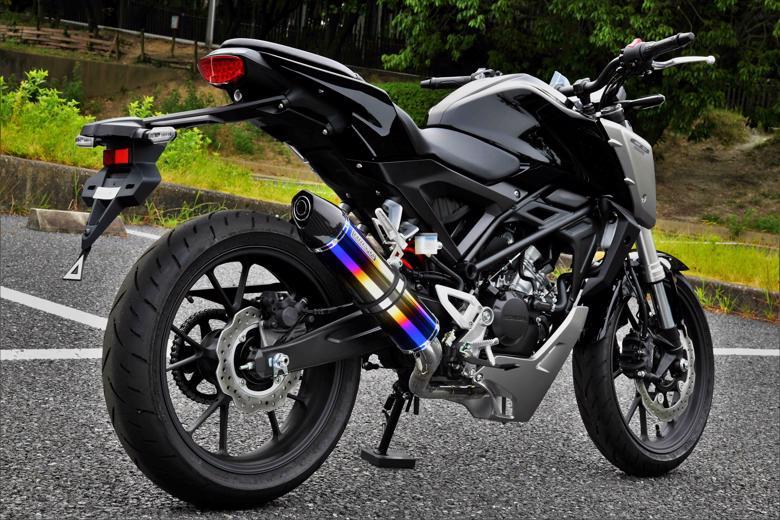 スーパーセール バイク用品 マフラー 4ストフルエキゾーストマフラービームス CROSS-EVO フルエキ ヒートチタン CB125R 18-(2BJ-JC79)BEAMS G182-55-S1J 取寄品