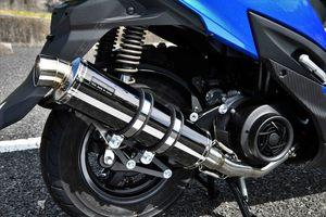 セールバイク用品マフラー4ストフルエキゾーストマフラービームスR-EVOSMBスウィッシュ2BJ-DV12BBEAMSG340-53-005取寄品