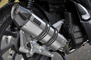 スーパーセール バイク用品 マフラー 4ストフルエキゾーストマフラービームス CORSA-EVO2 ステンレス PCX HYBRID 2AJ-JF84BEAMS G183-64-000 取寄品