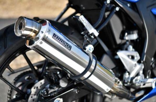スーパーセール バイク用品 マフラー 4ストフルエキゾーストマフラービームス R-EVO ステンレスサイレンサー GSX-R125 DL33B S125 DL32BBEAMS G340-53-S6J 取寄品