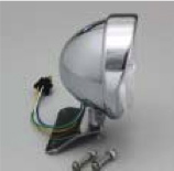 セール バイク用品 電装系 ヘッドライト&ヘッドライトバルブハリケーン 5.5ベーツヘッドライトKIT シャドウ750 C400HURRICANE HA5634 取寄品