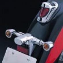セール バイク用品 電装系 ウインカー&ウインカーバルブハリケーン ブレットウインカーKIT オレンジ シャドウ400HURRICANE HA5338 取寄品