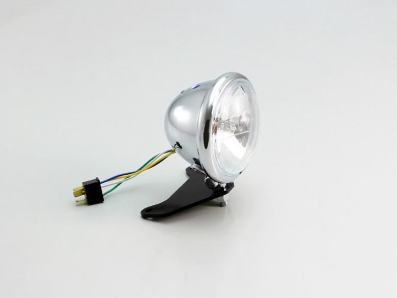 セール バイク用品 電装系 ウインカー&ウインカーバルブハリケーン 4.5マルチリフレクターヘッドライトkit CL レブル250(MC49) レブル500(PC60)HURRICANE HA5649CR 取寄品