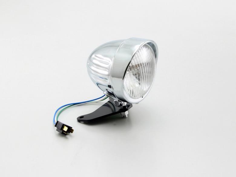 セール バイク用品 電装系 ウインカー&ウインカーバルブハリケーン 4.5スリットライトkit クロームメッキ レブル250(MC49) レブル500(PC60)HURRICANE HA5743 取寄品