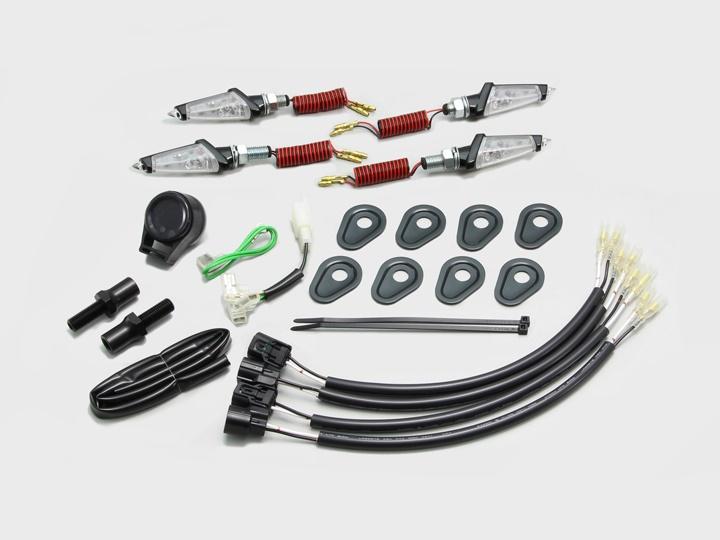 バイク用品 電装系 ウインカー&ウインカーバルブハリケーン LEDダガーウインカーキット BK C Z900RSCAFEHURRICANE HA5233BC 取寄品