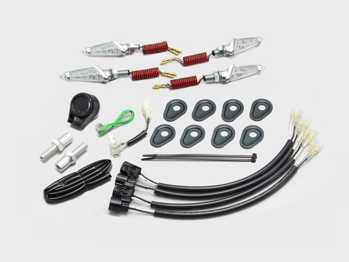 バイク用品 電装系 ウインカー&ウインカーバルブハリケーン LEDダガーウインカーキット MK C Z900RSCAFEHURRICANE HA5233MC 取寄品