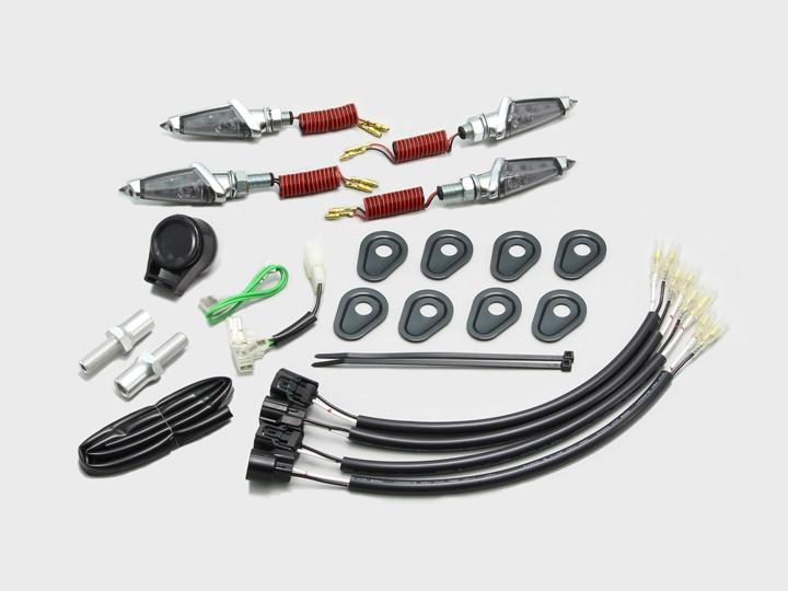 スーパーセール バイク用品 電装系 ウインカー&ウインカーバルブハリケーン LEDダガーウインカーキット MK S Z900RSCAFEHURRICANE HA5233MS 取寄品