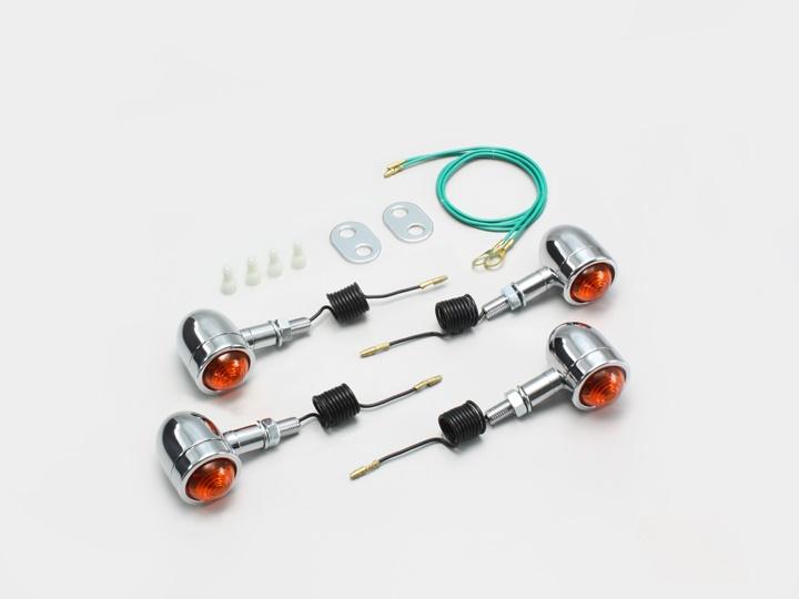 バイク用品 電装系 ウインカー&ウインカーバルブハリケーン ミニブレットウインカーキット マグナ50HURRICANE HA5425-01 取寄品
