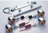 バイク用品 電装系 ウインカー&ウインカーバルブハリケーン ブレットウインカーキット シャドウ40 75HURRICANE HA5523-01 取寄品