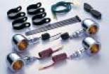 バイク用品 電装系 ウインカー&ウインカーバルブハリケーン ブレットウインカーキット バルカンHURRICANE HA5526-01 取寄品