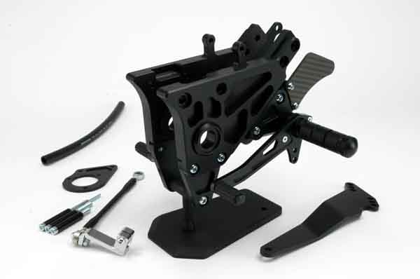 スーパーセール バイク用品 ステップ ステップ&ステップボード&タンデムキットspice タクティカルステップ 3POS BLK GPZ900R ALLスパイス 0102BSB1K901B 取寄品