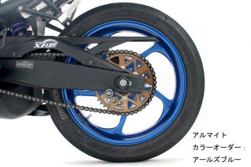 スーパーセール バイク用品GALESPEED R 400-17半ツヤBLK TYPE-GP1S YZF-R25 15ゲイルスピード 28831127 取寄品