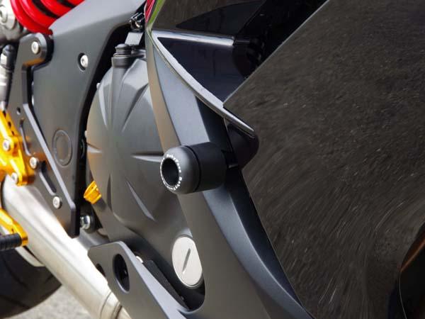 スーパーセール バイク用品 外装 ガード&スライダーベビーフェイス フレームスライダー Ninja650 ER6f 12-16BABYFACE 006-SK018 取寄品