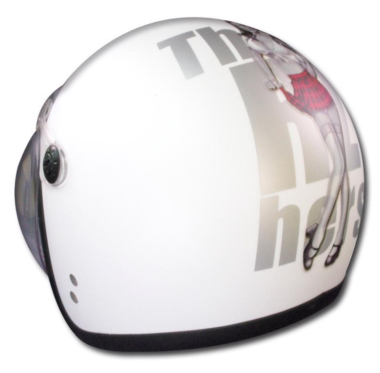 年末年始セール NewYearSALE バイク用品 ヘルメット ヘルメットライズ JB MOODY DOLL MWH 57-60RIDEZ 4527625084728 取寄品