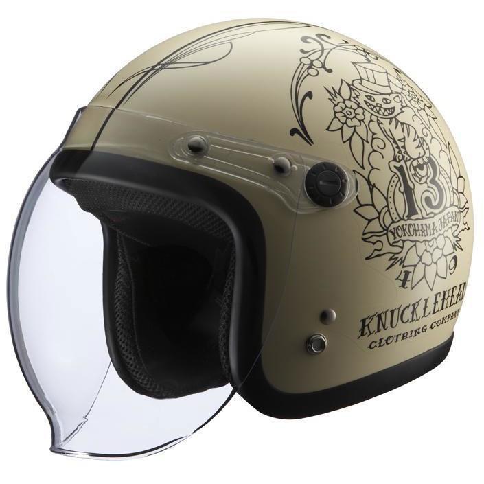 セール バイク用品 ヘルメット ヘルメットライズ KNUCKLE HEAD WildCat2 MIV (57-60cm)RIDEZ 4527625092594 取寄品