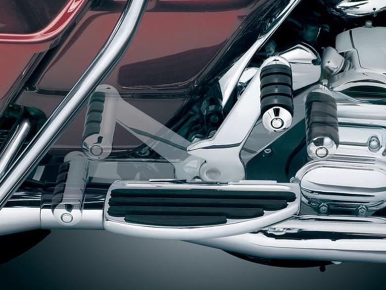 セール バイク用品 ステップ その他(ステップ)クリアキン アジャスタブルパッセンジャーペグ ELECTRA GLIDE ROAD GLIDE ROAD KING 07-09Kuryakyn 4571 取寄品