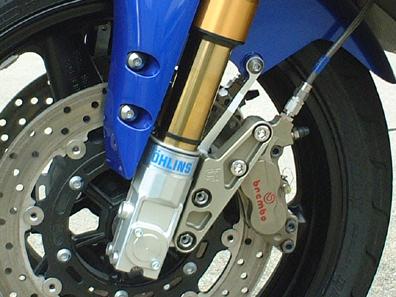 年末年始セール NewYearSALE バイク用品 ブレーキ&クラッチ キャリパー&サポートクレバーウルフ キャリパーサポートセットオーリンズ倒立 YZF-R1CLEVER WOLF CS40-320R1B 取寄品