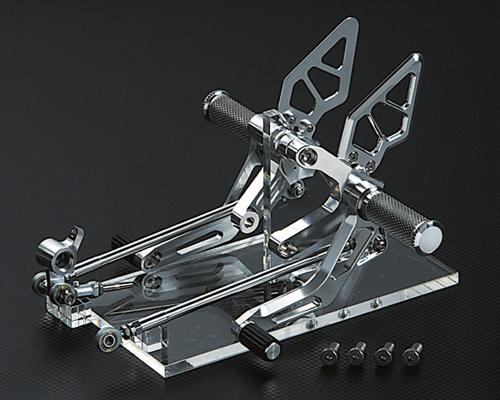 スーパーセール バイク用品 ステップ ステップ&ステップボード&タンデムキットAELLA ライディングステップ ホワイト 1098 DUCATIアエラ AE-10048-WT 取寄品