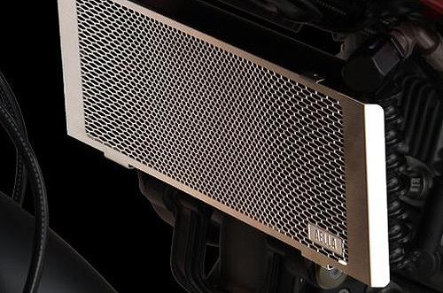 セール バイク用品 冷却系 オイルクーラーAELLA オイルクーラープロテクター ステンレス ドゥカティ ハイパーモタード1100 EVOアエラ AE-57017 取寄品