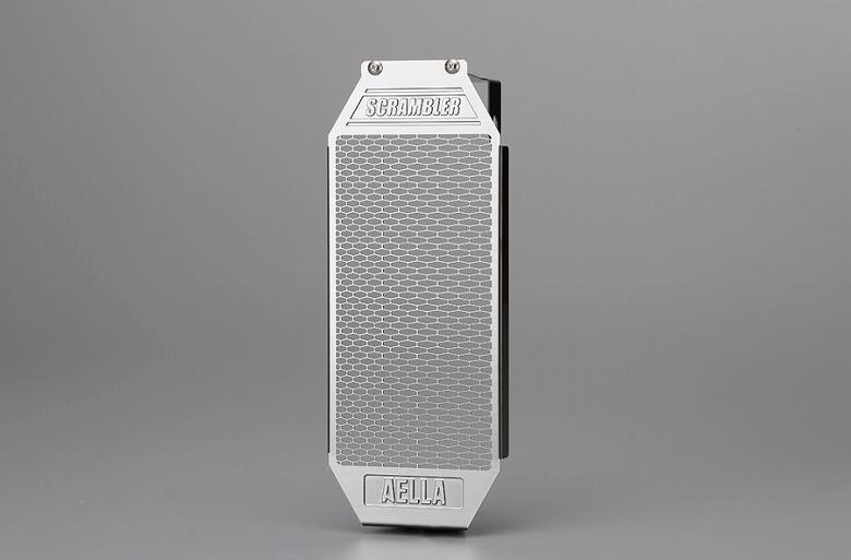 セール バイク用品 冷却系 オイルクーラーAELLA オイルクーラープロテクター ステンレス ドゥカティ スクランブラー800アエラ AE-57022 取寄品