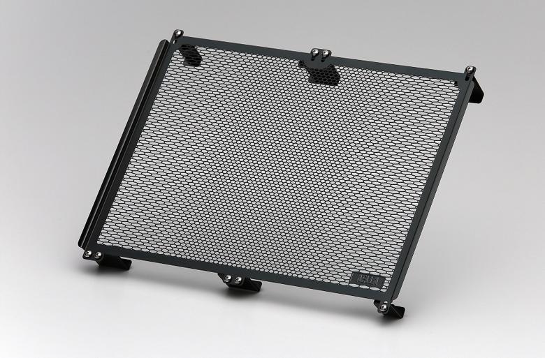 バイク用品 冷却系 ラジエターAELLA ラジエタープロテクター ブラック ドゥカティ ハイパーモタード821 13-15 939 16-アエラ AE-56024-BK 取寄品 スーパーセール
