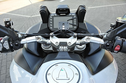 スーパーセール バイク用品 ハンドル ハンドルAELLA アルミ可変ハンドル ポリッシュ ドゥカティ ムルティストラーダ1260 S パイクスピークアエラ AE-27044 PO 取寄品