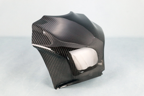 バイク用品 外装 フェンダーA-TECH タンクパッド タイプS(クリア塗装)DC RSV4 13-エーテック AP00165 取寄品