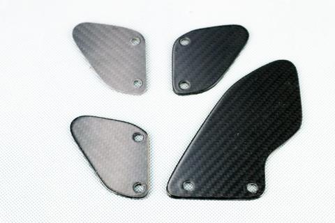 バイク用品 外装 フェンダーA-TECH タンデムヒールガードセット(クリア塗DC RSV4 09-エーテック AP00175 取寄品