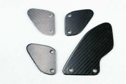 バイク用品 外装 フェンダーA-TECH タンデムヒールガードセット(ク塗装)DC TUONO 15-エーテック AP00625 取寄品