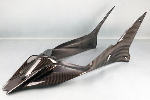 バイク用品 外装 フェンダーA-TECH レース用シートカウルSPL (ク塗装) DC TUONO 15-エーテック AP00665 取寄品 セール