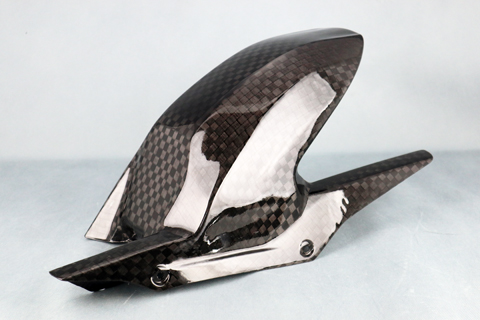 バイク用品 外装 フェンダーA-TECH リアフェンダーSPL(クリアー塗装)KDC G310R 17-エーテック BM31035-KD 取寄品 セール