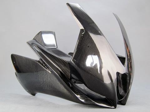 バイク用品 外装 フェンダーA-TECH ストリート用アッパーカウルSPL (ク塗DC RSV4 09-14エーテック AP00205-R01 取寄品 セール