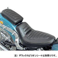 スーパーセール バイク用品 外装 シートEASYRIDERS デラックス シングルシート 06 SOFTAILイージーライダース H0301 取寄品