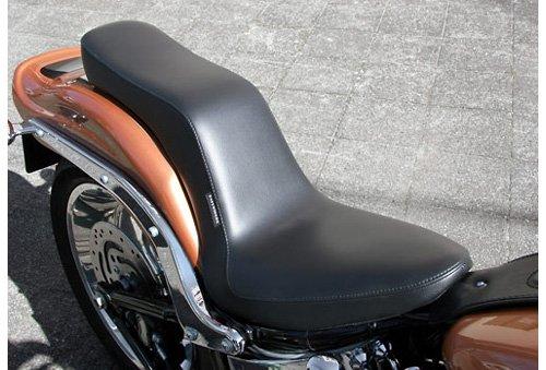 スーパーセール バイク用品 外装 シートEASYRIDERS スムースダブルシート 200タイヤモデル Softailイージーライダース H0353 取寄品
