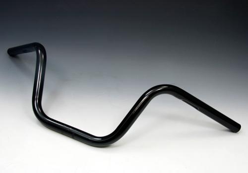 スーパーセール バイク用品 ハンドル ハンドルEASYRIDERS ボバーハイバー スチール 黒 1φ へこみ有イージーライダース 0766-BK 取寄品