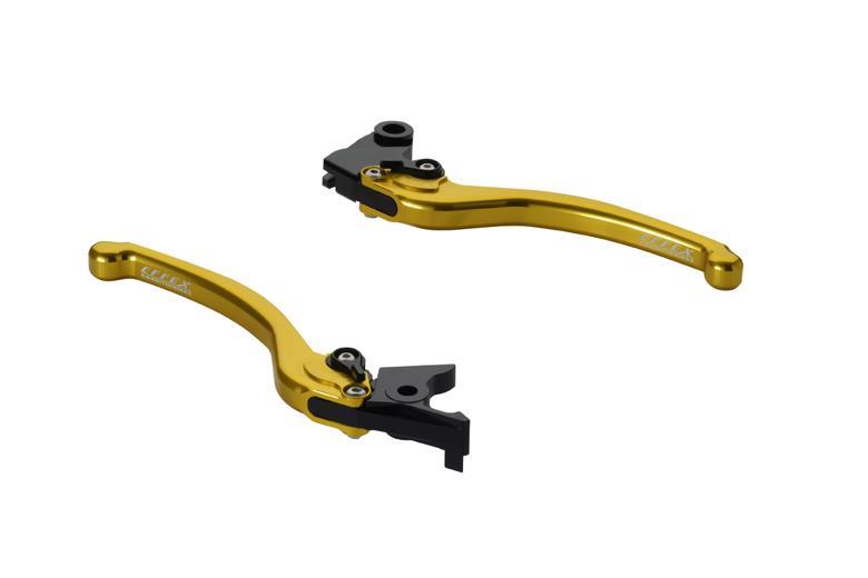 セール バイク用品 ハンドル レバーEFFEX スムースフィットレバー ゴールド Z800 13-16エフェックス EAL018G 取寄品